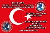 EchoLink Türk, Bayrak, Ta-Trac Konferans Odaları Çevrim Listesi – 15 Eylül 2017 Cuma